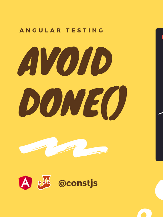 Angular Testing: Avoid done() function